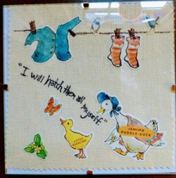 "6"" x 6"" Jemina Puddle Duck"