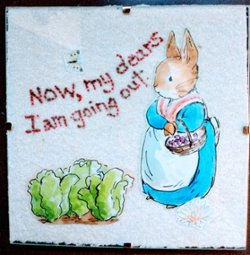 "6"" x 6"" Mother Rabbit"