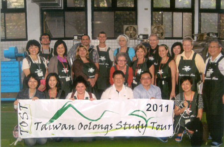 One of the many Taiwan Oolongs Study Tour (TOST) group photos.